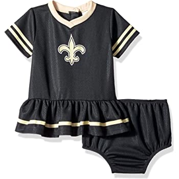 NFL New Orleans Saints 3 Pack Short Sleeve Bodysuit 6-12 Months black//gold//white New Orleans Saints