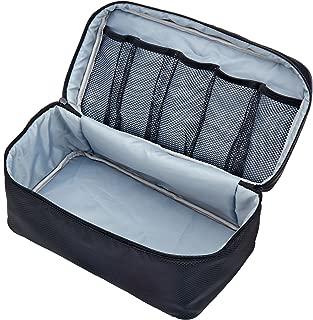 Packing Organizer Bra Underwear Storage Bag Travel Lingerie Pouch Toiletry Organizer (Black L)