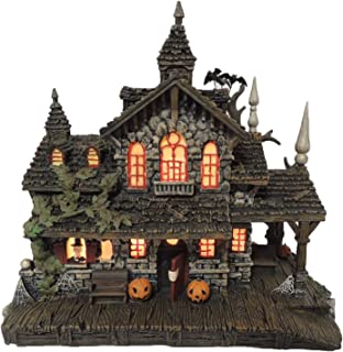 Hawthorne Village Universal Studios Monsters Collection Transylvania Train Station Collectible Halloween House Display