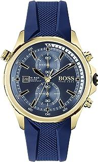 Hugo BOSS Men's Analog Quartz Watch with Silicone Strap 1513822