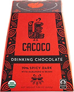 CACOCO 70% Spicy Dark Drinking Chocolate (7.05 ounces)