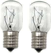 2 X Whirlpool 8206232A Light Bulb