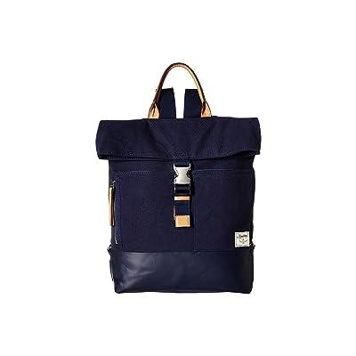 Nautica Modern Trail Flap Backpack (Indigo) Backpack Bags