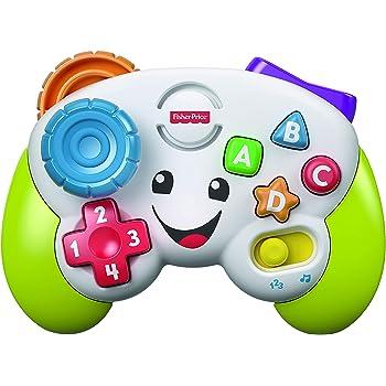 フィッシャープライス バイリンガル・ゲームコントローラー 6カ月~36カ月 赤ちゃん 幼児 子ども 幼児 おもちゃ 知育玩具 知育 学習 英語 外国語 指遊び FXX43