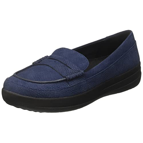 a71d7ccccfb Fitflop Women s F-Sporty Penny Loafer Snake