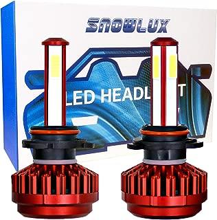 9005 Car LED Headlight Bulbs Conversion Kit, SNOWLUX R7 Series Low Beam/Fog Light Bulb- 8000LM 6000K Cool White