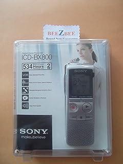 Sony ICD-BX800 2 GB Flash Memory Digital Voice Recorder (Silver)