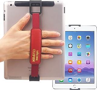 WiLLBee CLIPON 2 DUAL للجهاز اللوحي PC 7~11 بوصة (أحمر) خاتم إصبع ذكي حامل حزام قبضة حزام حزام - iPad Pro 10.5 9.7 Air min...