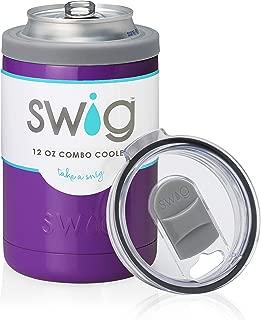 Swig 12oz Combo Cooler (Purple)