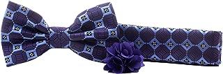 Man of Men - Premium Bowtie Gift Box Sets - Bow Tie, Pocket Square, Lapel Pin