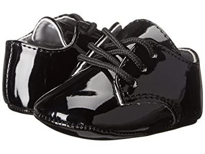 Baby Deer Dress Oxford (Infant) (Black Patent) Boys Shoes