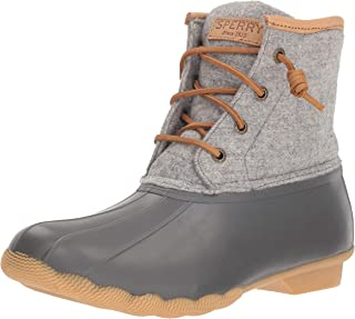 Sperry Women's Saltwater Wool Embossed Rain Boot