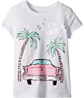 Kate Spade New York Kids - Where Next Tee (Little Kids/Big Kids)