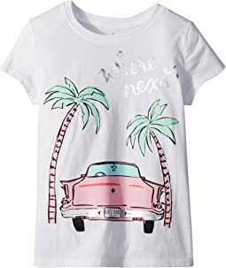 Kate Spade New York Kids Where Next Tee (Little Kids/Big Kids)