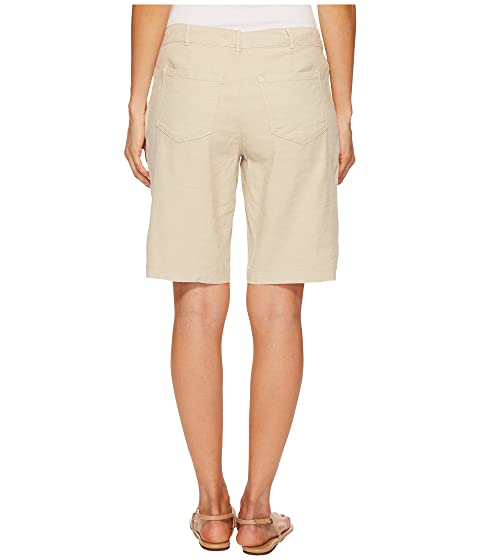 Cheap Sale Low Cost NYDJ Petite Petite Bermuda Linen Shorts Feather Cheap With Mastercard Buy Cheap Enjoy hMlSkHoA