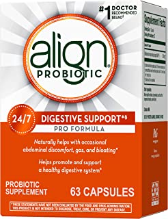 Align Probiotic Pro Formula, 1 Doctor Recommended Brand, Helps Soothe Occasional Gas, Abdominal Discomfort, Bloating to Su...