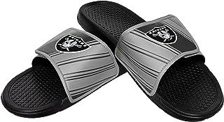 NFL Mens NFL Stripe Legacy Velcro Sport Slide - Mens