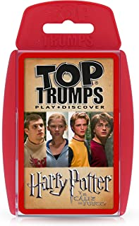 HARRY POTTER Trumps Harry Potter y el Caliz de Fuego, multicolor (ELEVEN FORCE 1)
