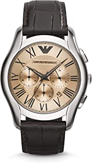 Emporio Armani Men's AR1785 Dress Brown Leather Watch