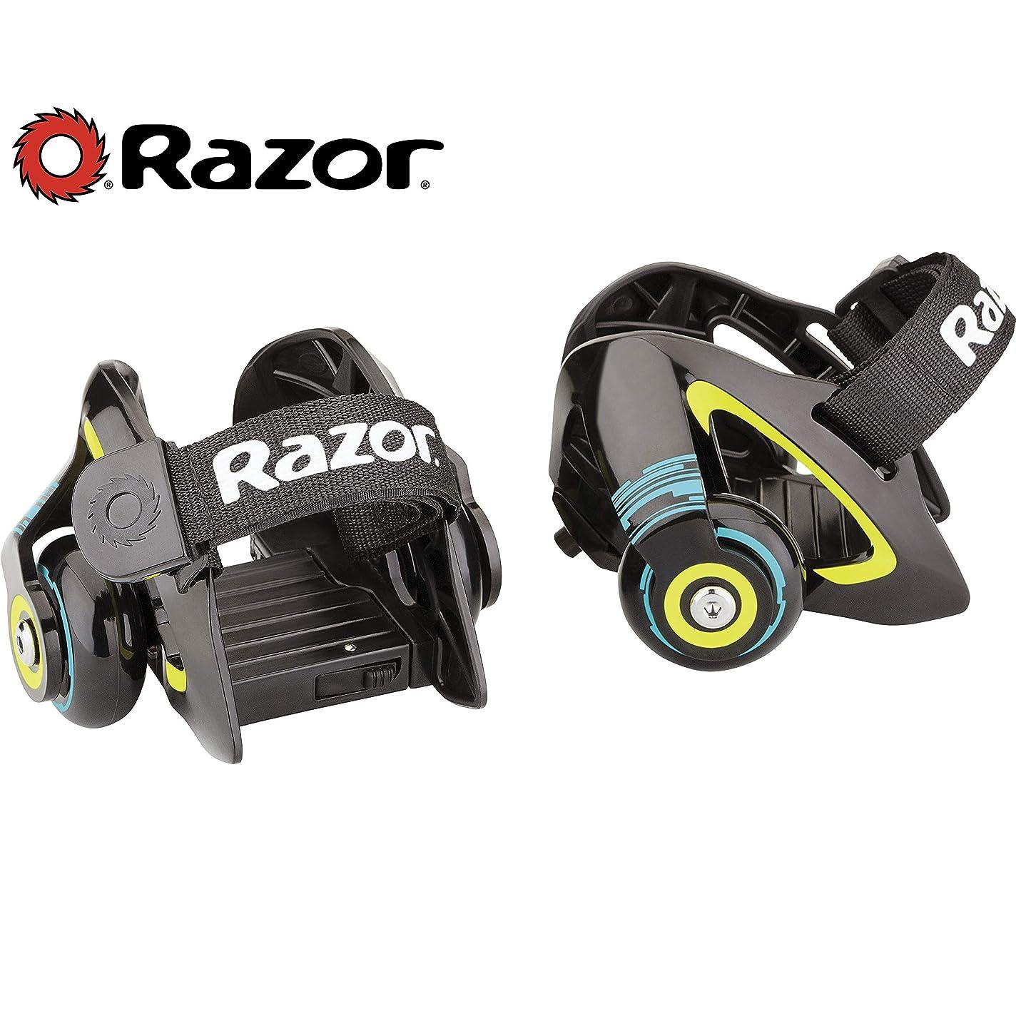 決定する黒折るRazor Jetts Heel Wheels - Green