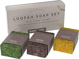 Calily Life Natural Luffa Soap Set