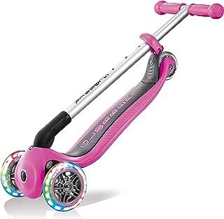 Globber Primo - Patinete Plegable para niña, Color Rosa con ...