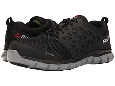 Reebok Work Sublite Cushion Work EH (Black Synthetic) Men