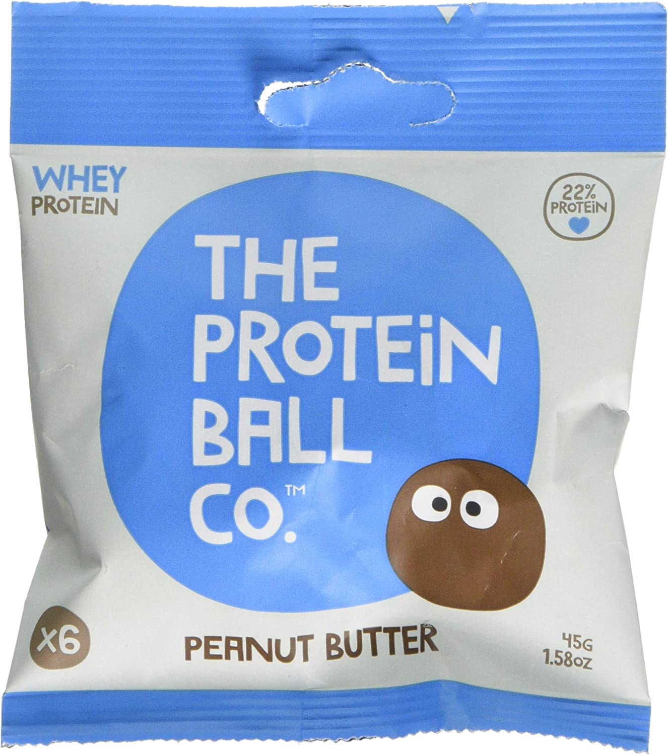 The Protein Ball Co Peanut Butter Nutrition Balls 10 Pack 10 X 45 G Amazon Co Uk Health Personal Care