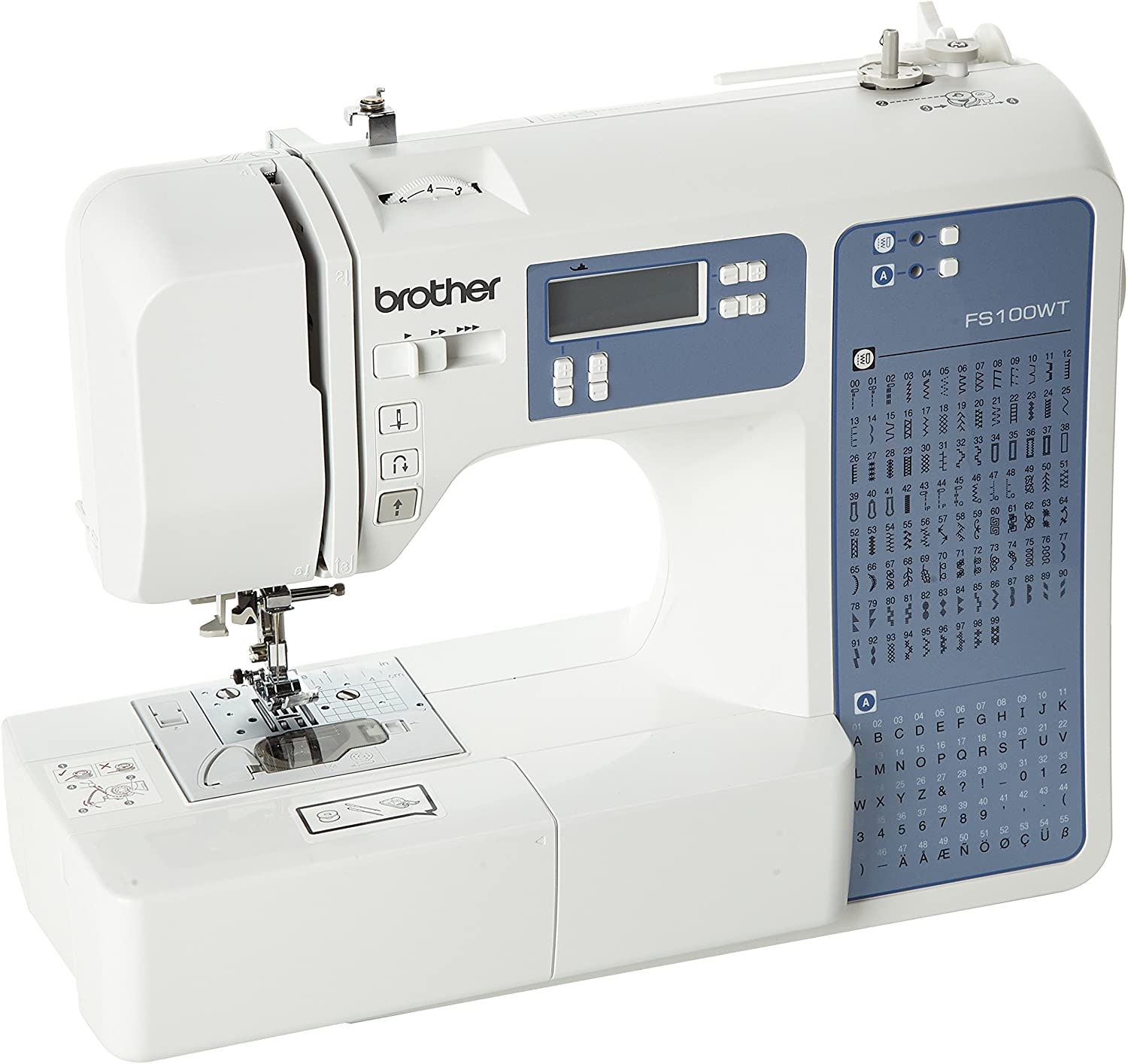 Brother FS100WT Free Motion Embroidery/Sewing and Quilting Machine
