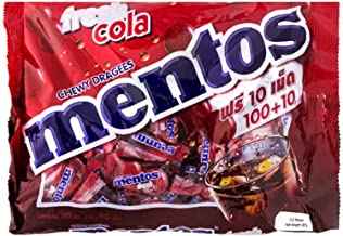 Mentos Foodkoncept Chewy Mints, Classic Fresh Cola, 10.50 Ounce
