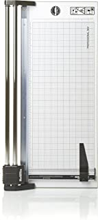 Rotatrim RC 24-Inch Cut Professional Paper Cutter/ Trimmer (RCM24) Precision Rotary Trimmer with Self-Sharpening Precision Steel Blades & Twin Chrome Steel Guide Rails