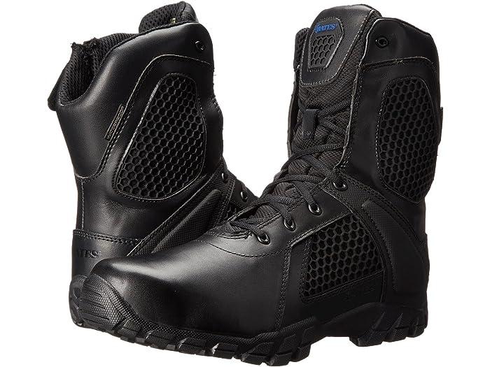 """Bates Footwear Shock 8"""" Side Zip"""