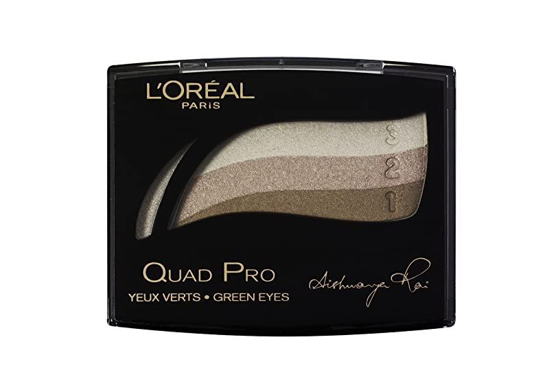 サバントビールマディソンL'Oréal Paris Color Appeal Trio Pro Lidschatten, 319 Golden Green