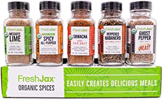 FreshJax Hot & Spicy Seasonings Gift Set, (Set of 5)