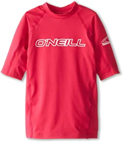 O'Neill Kids Basic Skins S/S Crew (Little Kids/Big Kids)