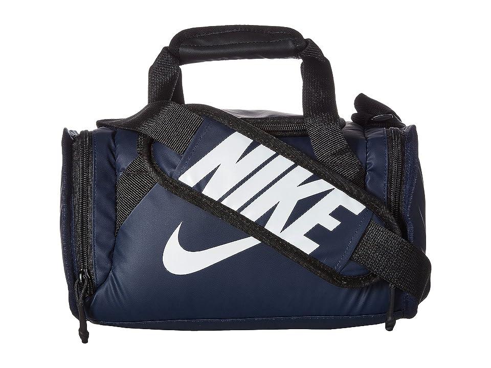 Nike Kids Brasilia Insulated Medium Duffel (Obsidian) Duffel Bags