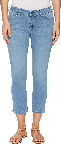 "Liverpool The Hugger Milly Capris 23"" in Halo Ultra Light/Indigo"