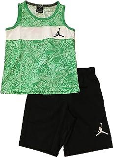 Jordan Little Boys' Tank Top and Shorts Set Light Green Multi Size 6