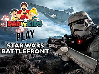 Clip: Dad vs. Kids Play Star Wars Battlefront