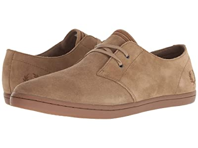 Fred Perry Byron Low Suede (Almond) Men
