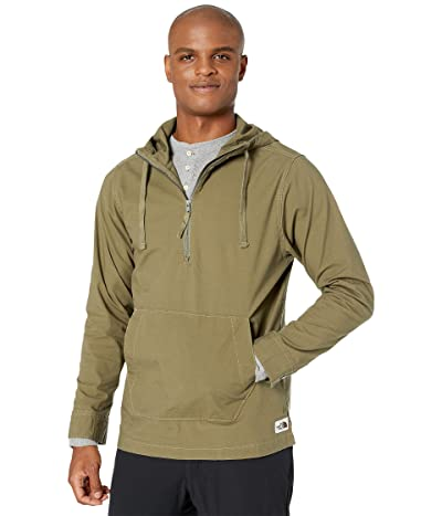 The North Face Battlement Anorak (Burnt Olive Green) Men