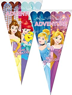 ALMACENESADAN 2362; Pack 6 Bolsas de Cono Disney Princesas ...