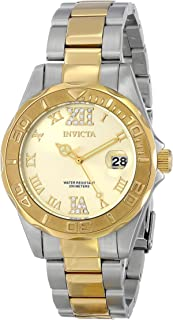 Invicta Women's 17021 Pro Diver Analog Display Japanese Quartz Two Tone Watch