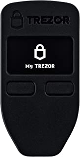 Trezor One - Digital Bitcoin Hardware Wallet and Password Manager - Cold Storage for Cryptocurrency - Ultimate Security and Protection - Supports Multiple Coins including Ethereum and ERC-20 - Black
