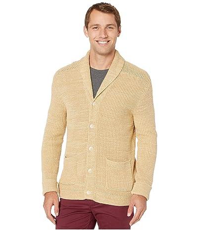 Polo Ralph Lauren Long Sleeve Shawl Cardigan (Oatmeal Ragg) Men