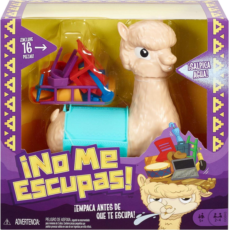 Mattel Games - Lupe la llama que escupe Juego de mesa para niños +5 años (GGB43)