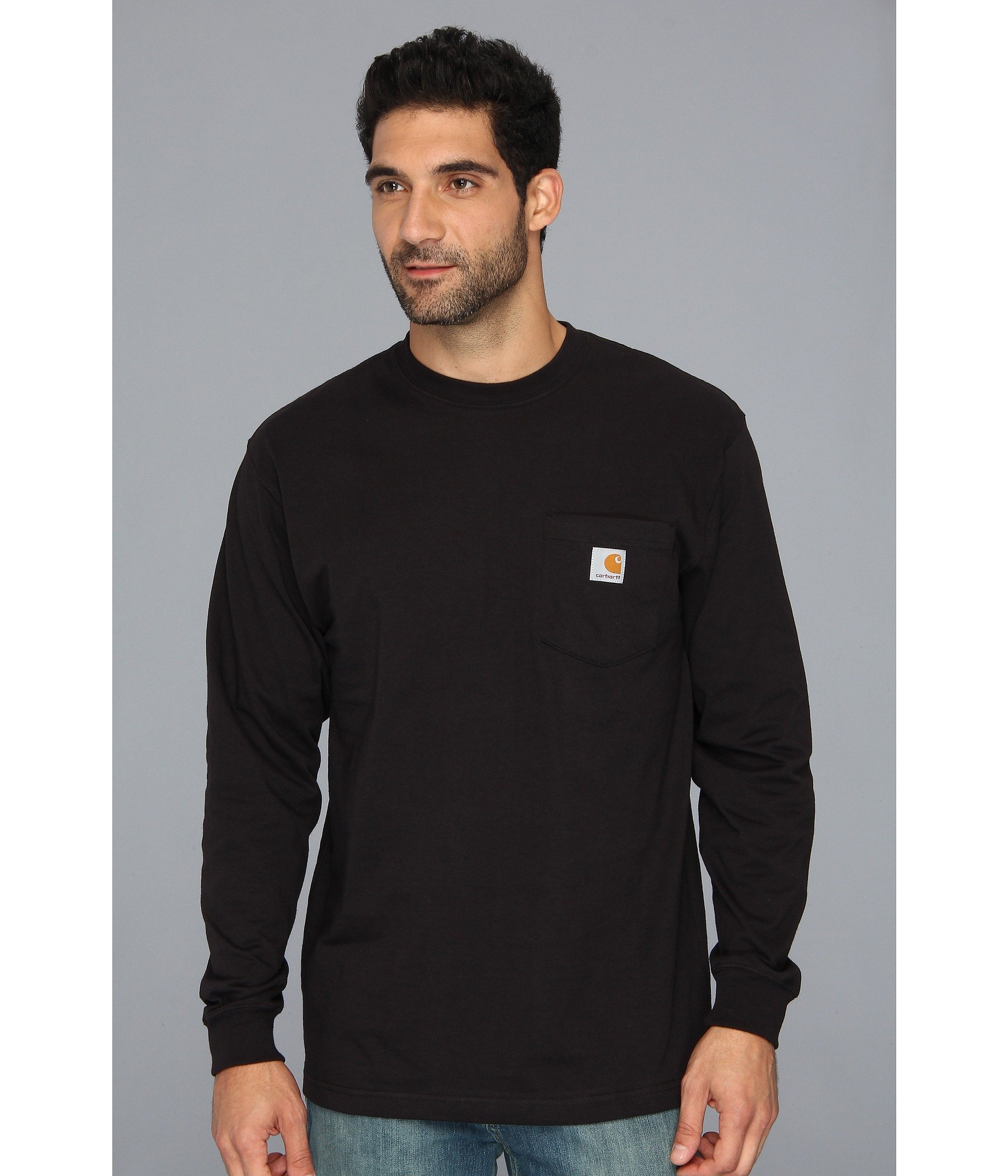 Black Workwear s Pocket Carhartt Tee L d0Xqwvw