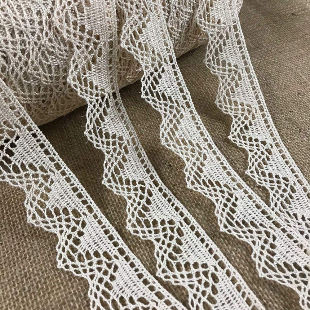 Max 43% OFF Cluny Trim Lace Natural Cotton 1.5