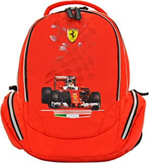 "FERRARI RED VICTORY BACKPACK 18"" BP"