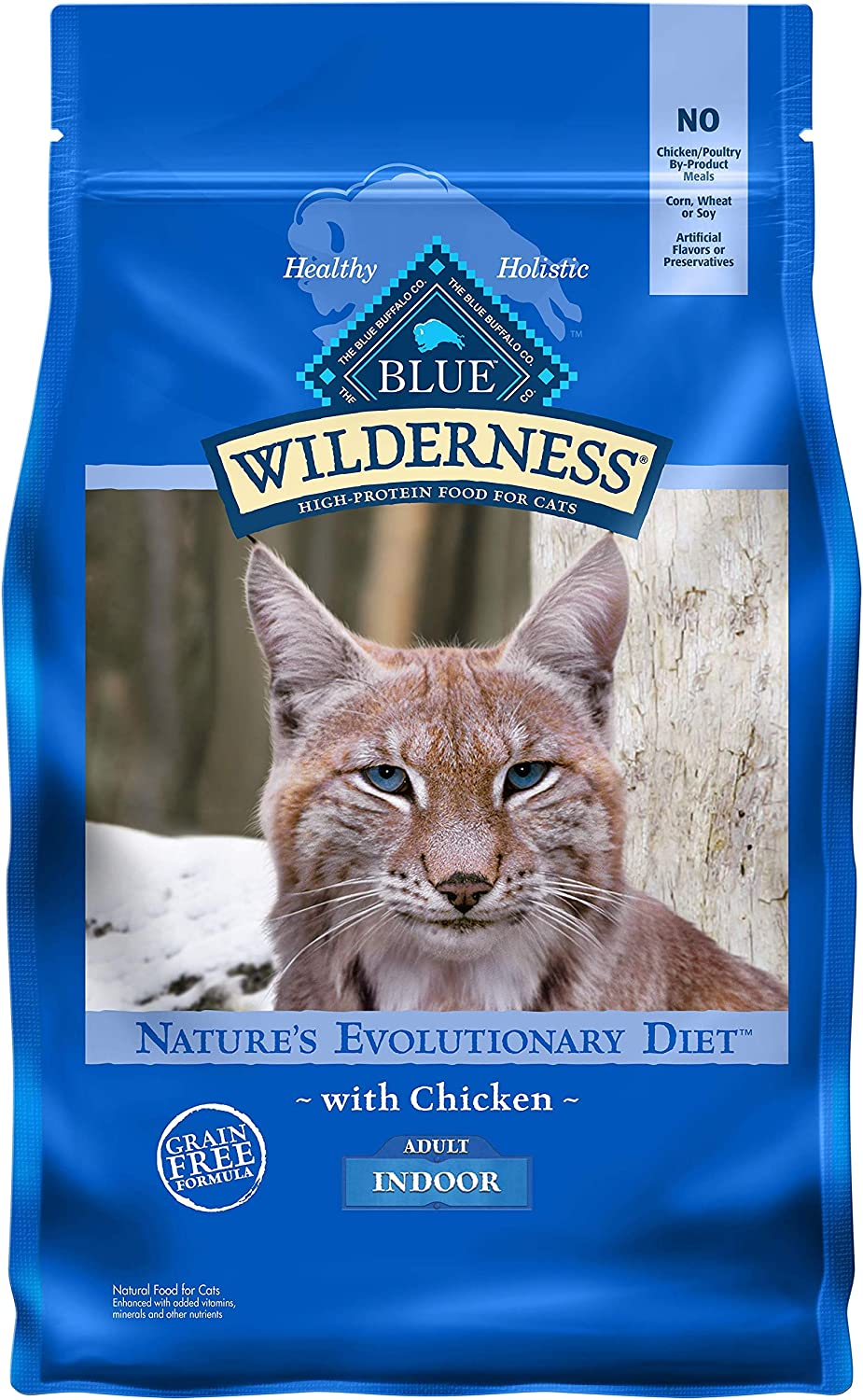 Blue Buffalo Wilderness High Protein Natural Max 88% OFF Free I Grain Adult 5 popular